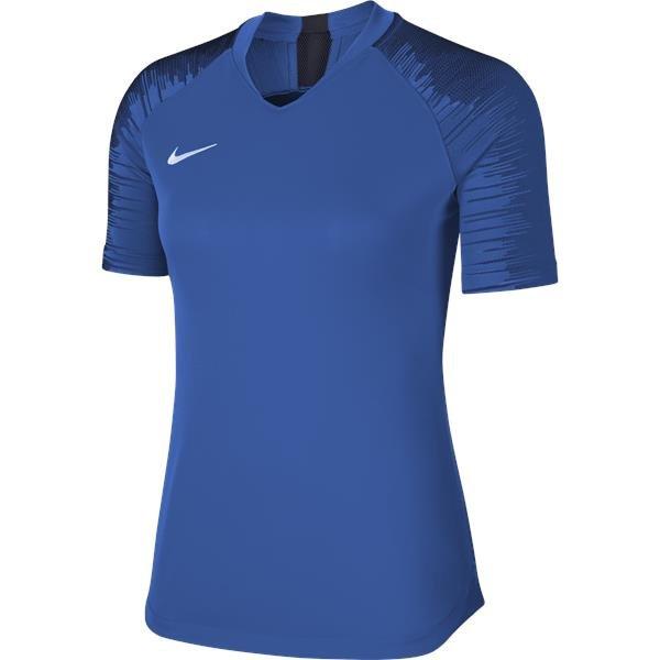 Nike Womens Strike Football Shirt Royal Blue/Obsidian