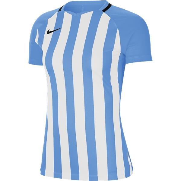 Nike Womens Striped Division III Football Shirt Uni Blue/White