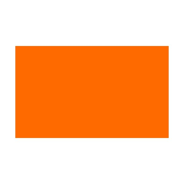 4 Corner Posts & 1 Colour Flags Orange Flags