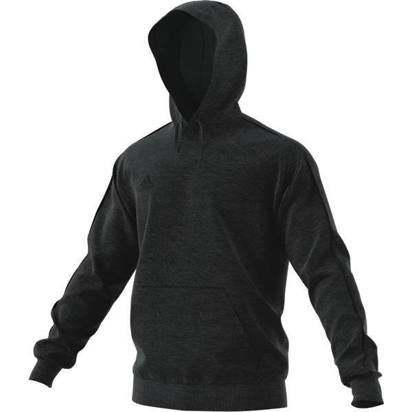 adidas Core 18 Dark Grey/Black Hoody