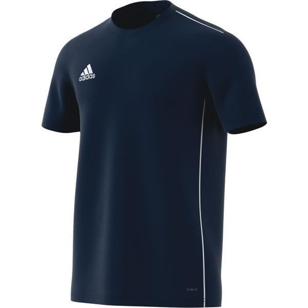 adidas Core 18 Dark Blue/White Training Jersey
