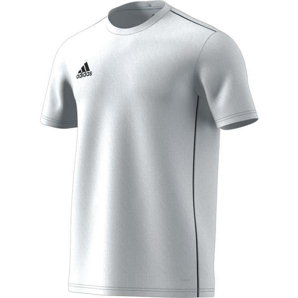 adidas Core 18 White/Black Training Jersey