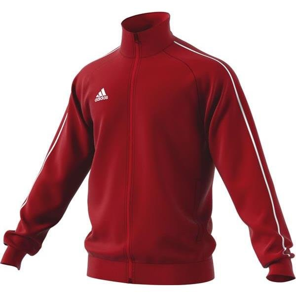 adidas Core 18 Power Red/White Pes Jacket