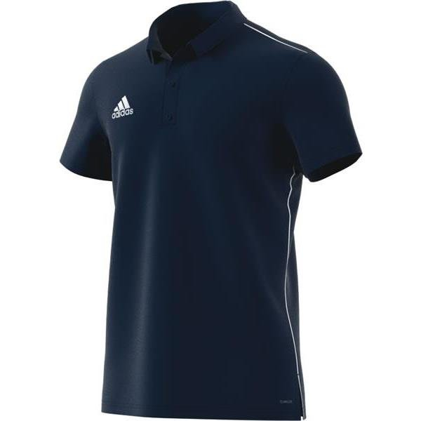 adidas Core 18 Polo Dark Grey/black