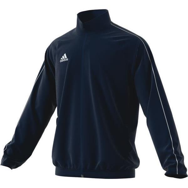 adidas Core 18 Dark Blue/White Presentation Jacket