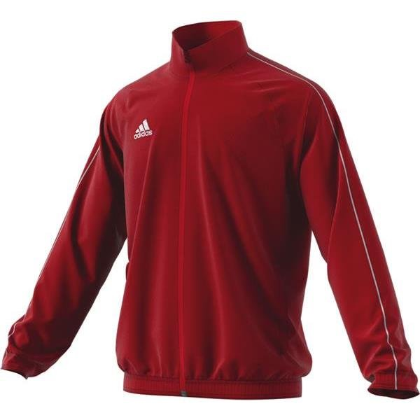 adidas Core 18 Power Red/White Presentation Jacket