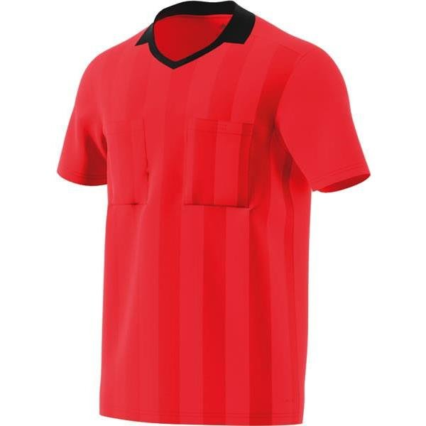 adidas REF 18 Bright Red Short Sleeve Jersey