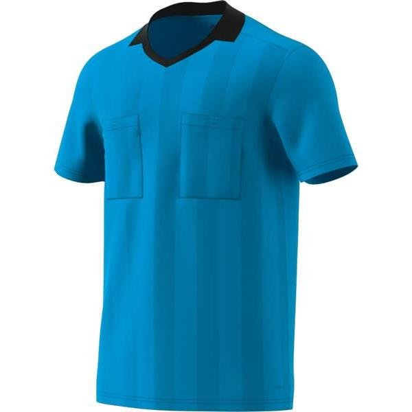 adidas REF 18 Bright Cyan Short Sleeve Jersey