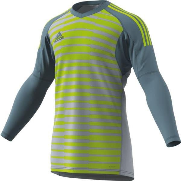 adidas ADIPRO 18 Light Grey/Semi-Solar Yellow Goalkeeper Shirt