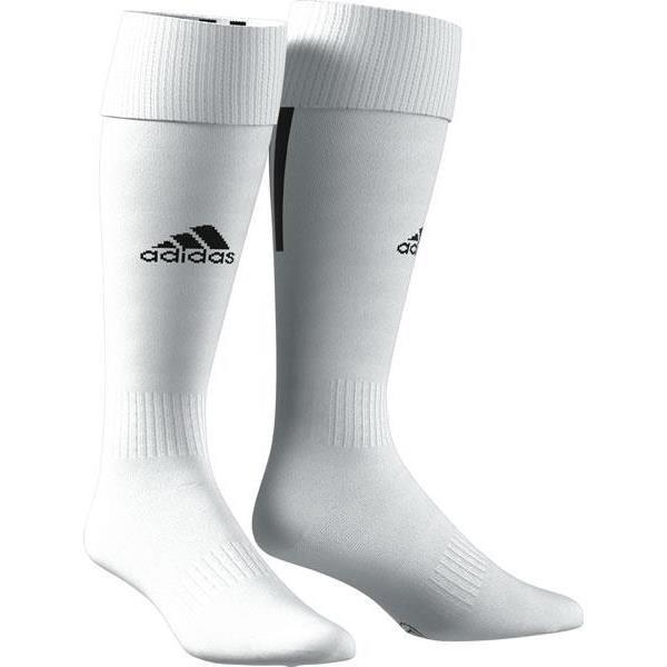 adidas SANTOS 18 White/Black Football Sock