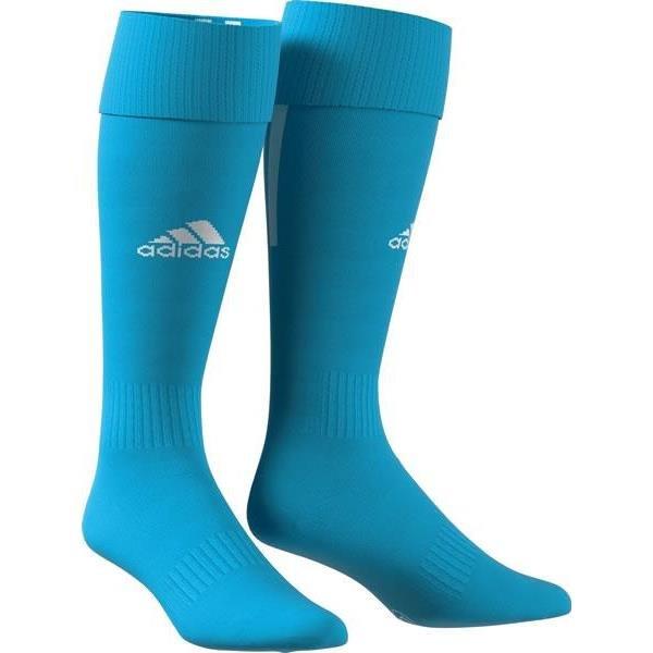 adidas SANTOS 18 Clear Blue/White Football Sock