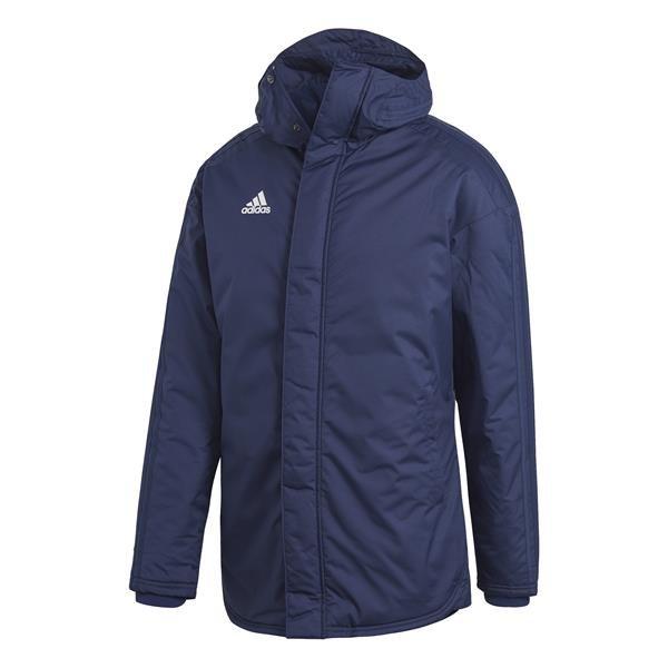 adidas Jacket 18 Team Navy Blue/White Stadium Parker