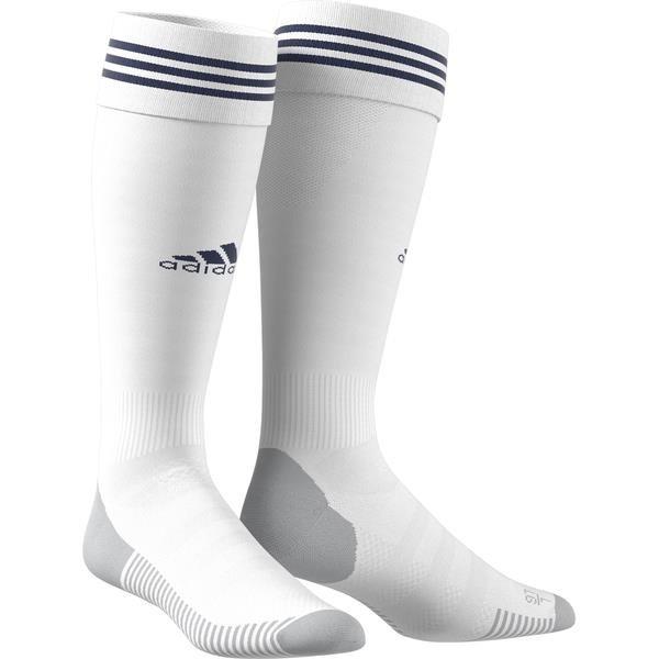adidas ADI SOCK 18 White/Dark Blue Football Sock