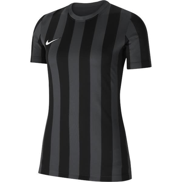 Nike Womens Striped Division IV Football Shirt White
