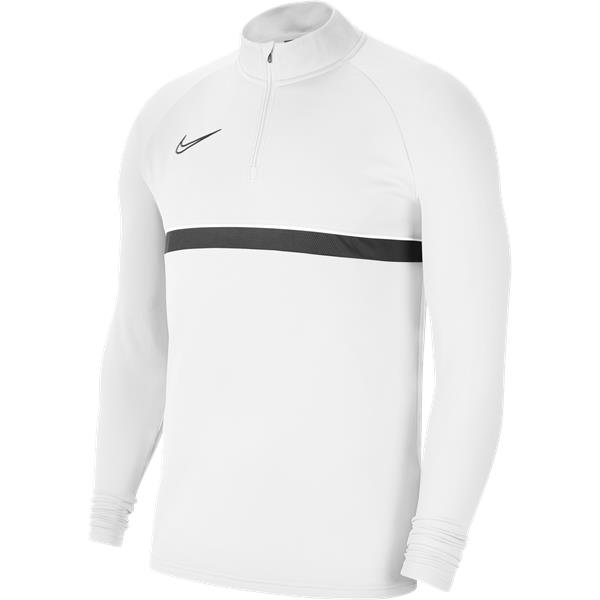 Nike Academy 21 Drill Top White/Black