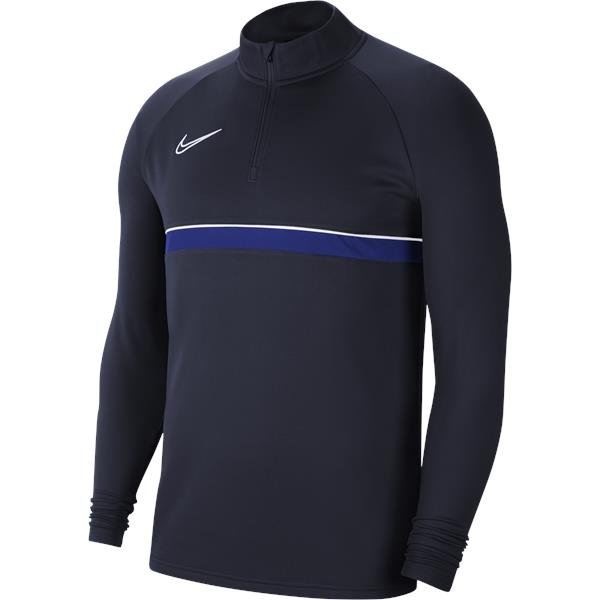 Nike Academy 21 Drill Top Obsidian/White