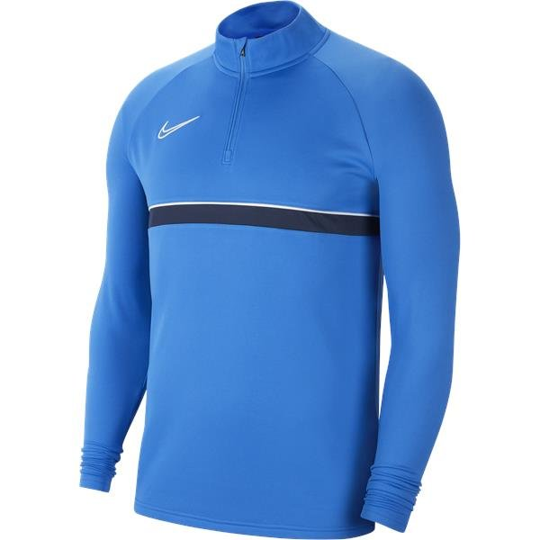 Nike Academy 21 Drill Top Royal Blue/White
