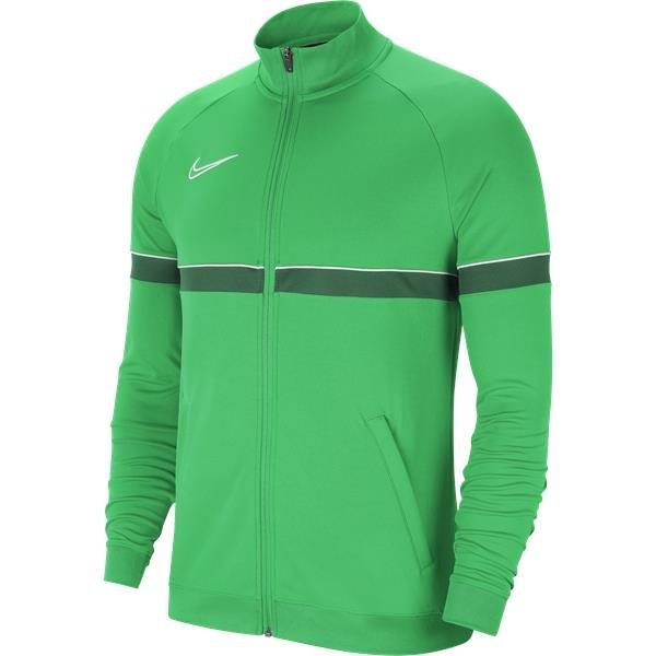 Nike Academy 21 Track Jacket Knit Light Green Spark/White