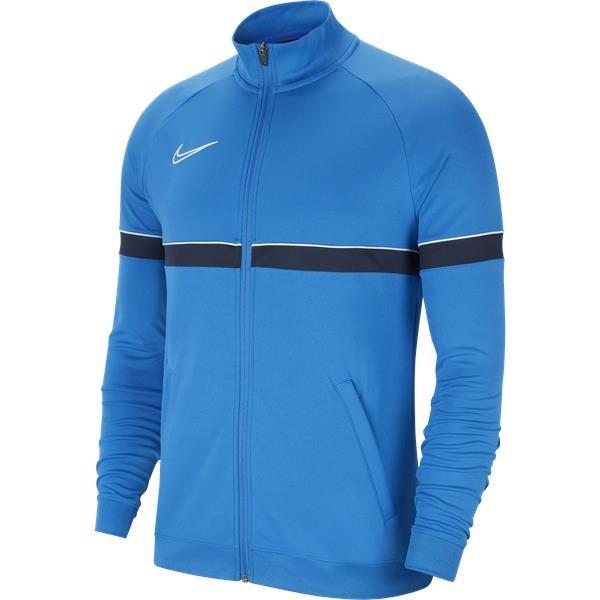Nike Academy 21 Track Jacket Knit Royal Blue/White