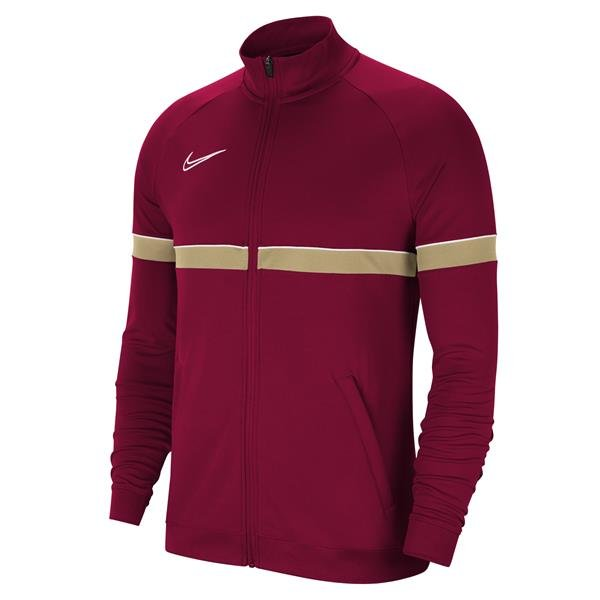 Nike Academy 21 Track Jacket Knit Team Red/White