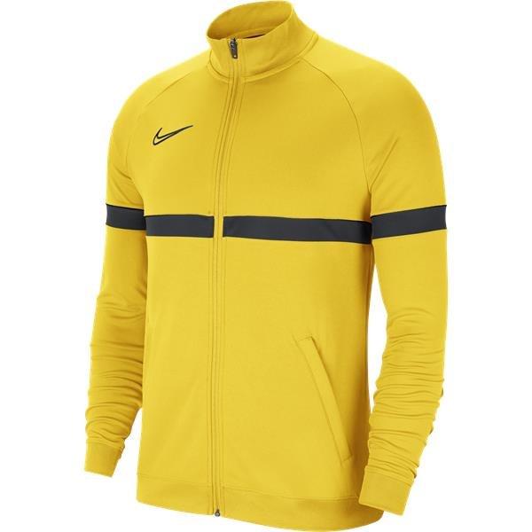 Nike Academy 21 Track Jacket Knit Tour Yellow/Black