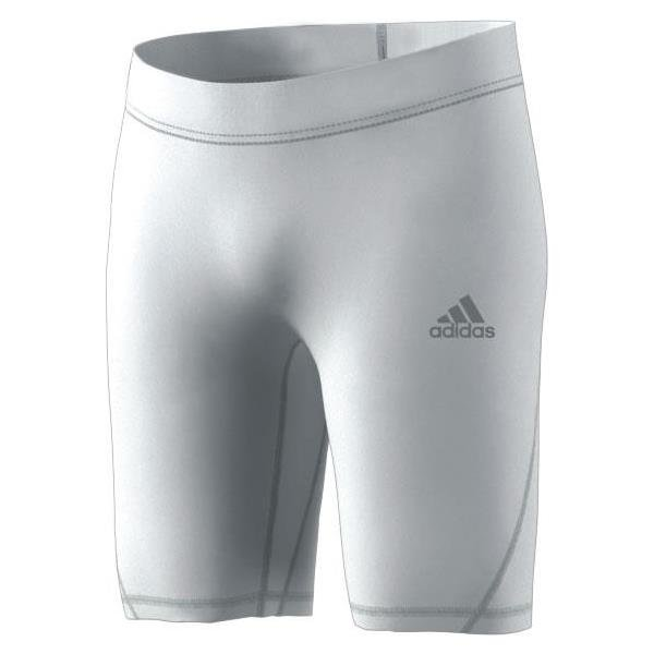 finest selection 09cb4 696bd adidas Alphaskin Short Tight White