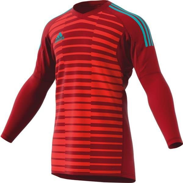 cff24449eb4 adidas ADIPRO 18 Power Red Semi-Solar Red Goalkeeper Shirt