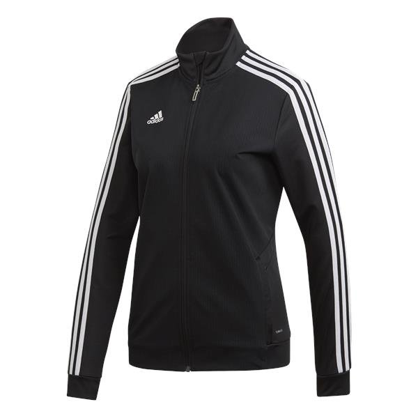 adidas Tiro 19 Womens Training Jacket White/black