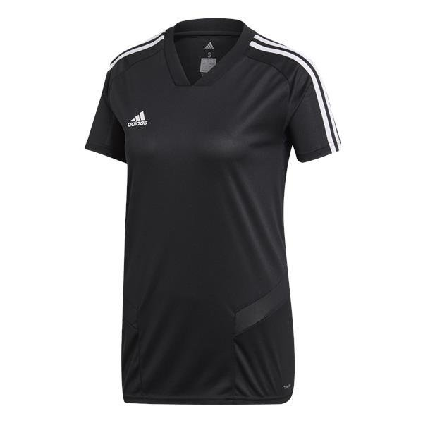 adidas Tiro 19 Womens Training Jersey White/black