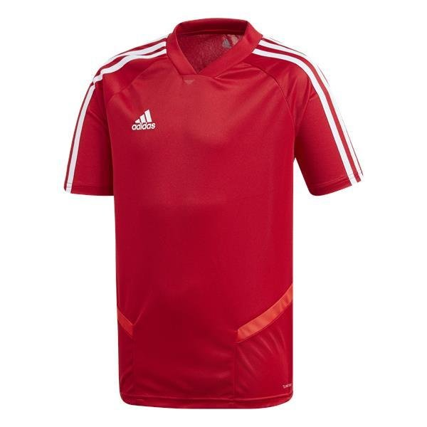 adidas tiro 19 Power Red/White Training Jersey