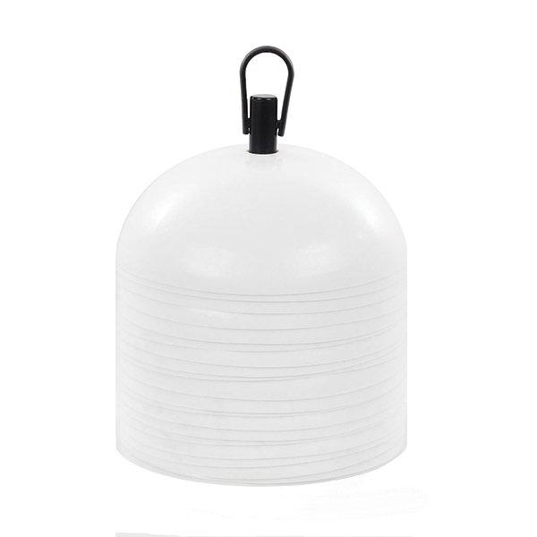 20 White Dome Training Cones