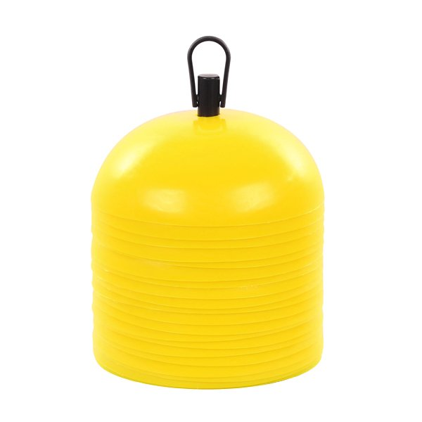 20 Yellow Dome Training Cones