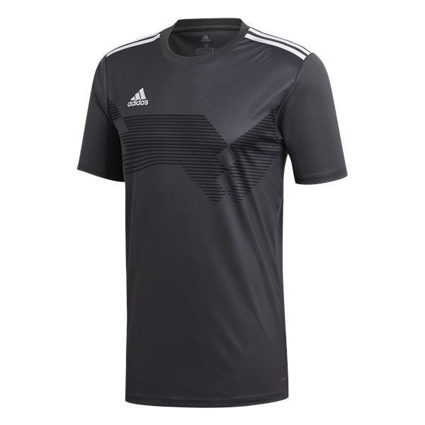 adidas Campeon 19 Solid Grey/White Football Shirt