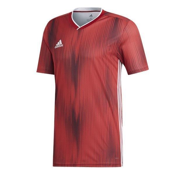 adidas Tiro 19 Power Red/White Football Shirt