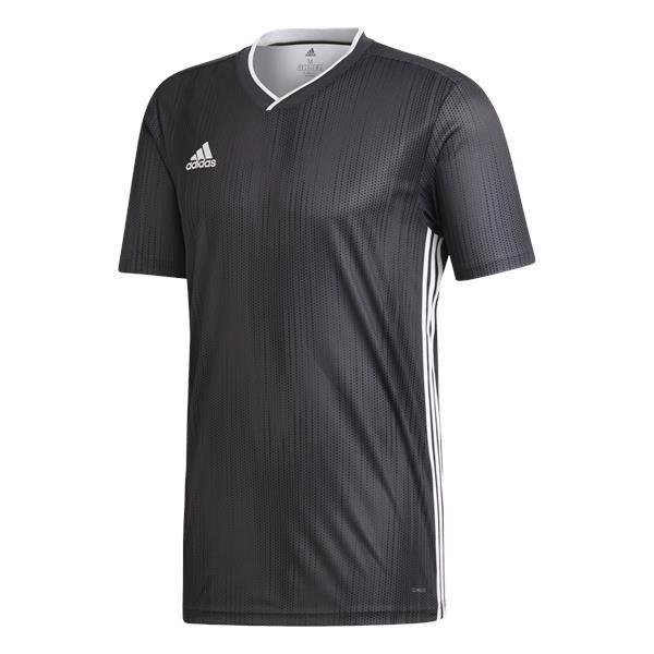 adidas Tiro 19 Football Shirt White/clear Grey