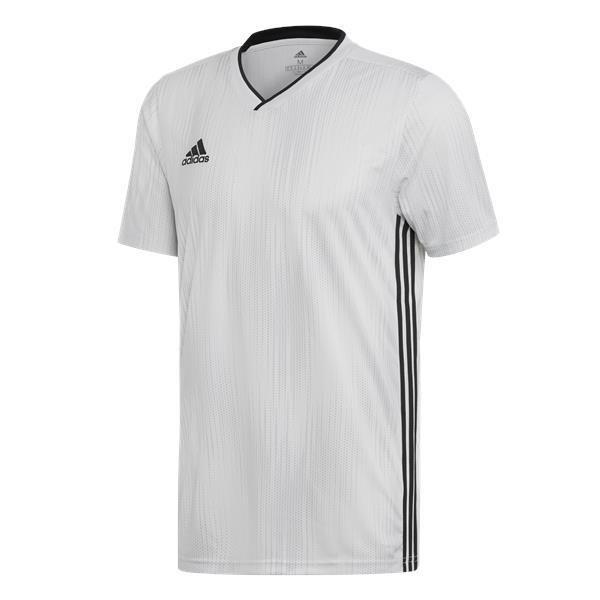 adidas Tiro 19 White/Black Football Shirt