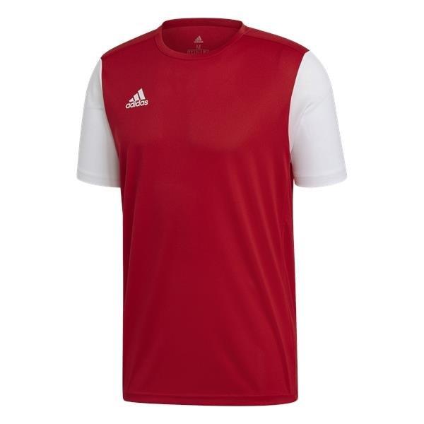 adidas Estro 19 Power Red/White Football Shirt