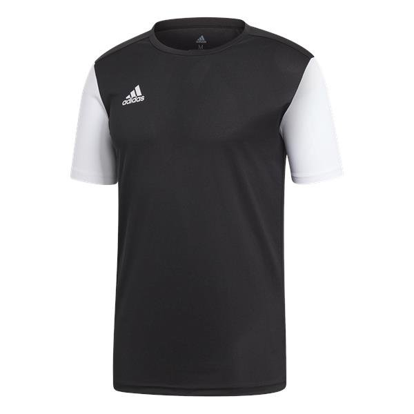 adidas Estro 19 Black/White Football Shirt