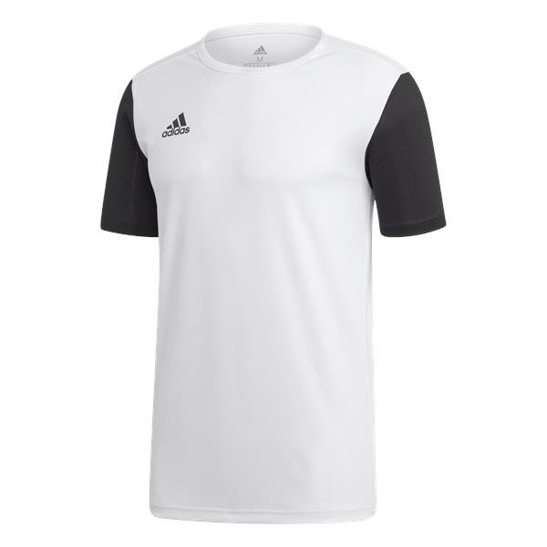 adidas Estro 19 White/Black Football Shirt