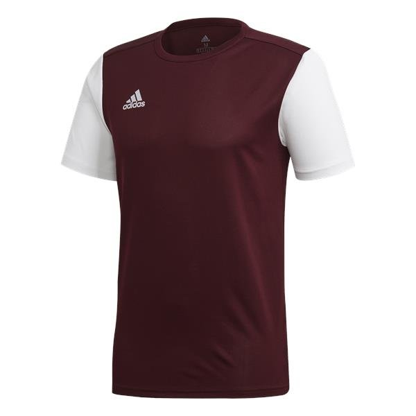 adidas Estro 19 Football Shirt White/black