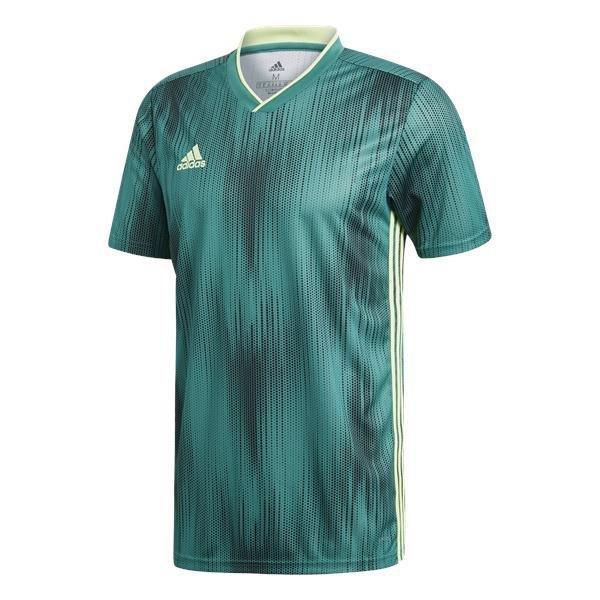 adidas Tiro 19 Active Green/Hi-Res Yellow Football Shirt