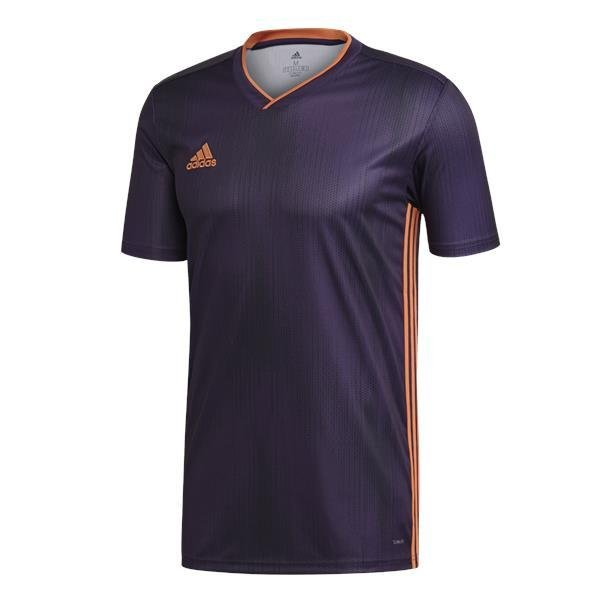 adidas Tiro 19 Legend Purple/True Orange Football Shirt