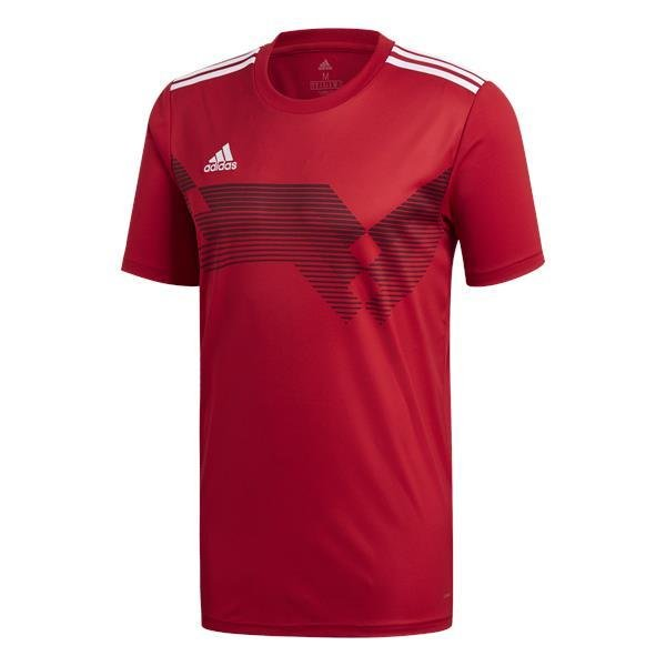 adidas Campeon 19 Power Red/White Football Shirt