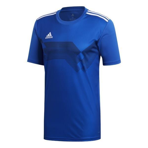 adidas Campeon 19 Bold Blue/White Football Shirt