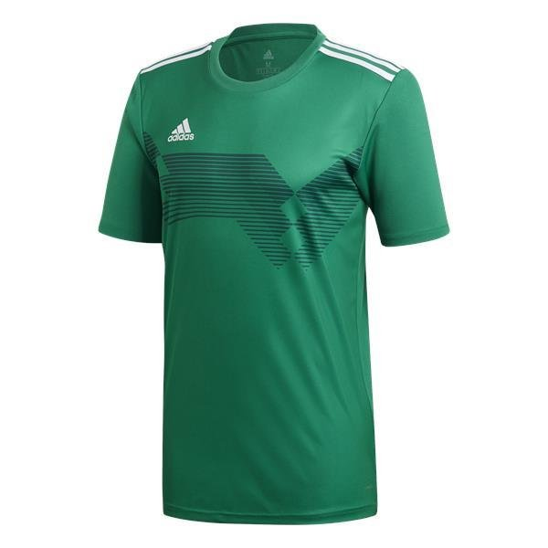 adidas Campeon 19 Football Shirt White/clear Grey