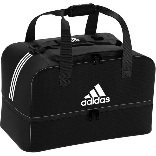 adidas Tiro Dufflebag Bottom Compartment Black/White