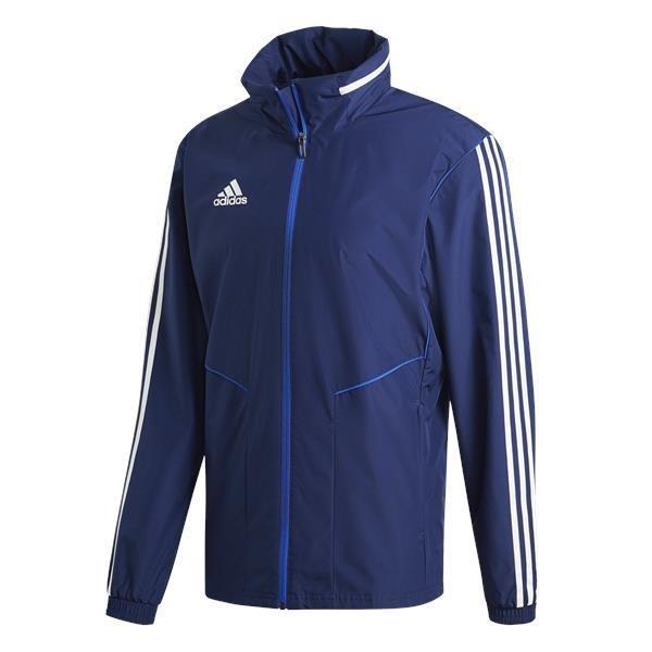 adidas tiro 19 Dark Blue/White All Weather Jacket