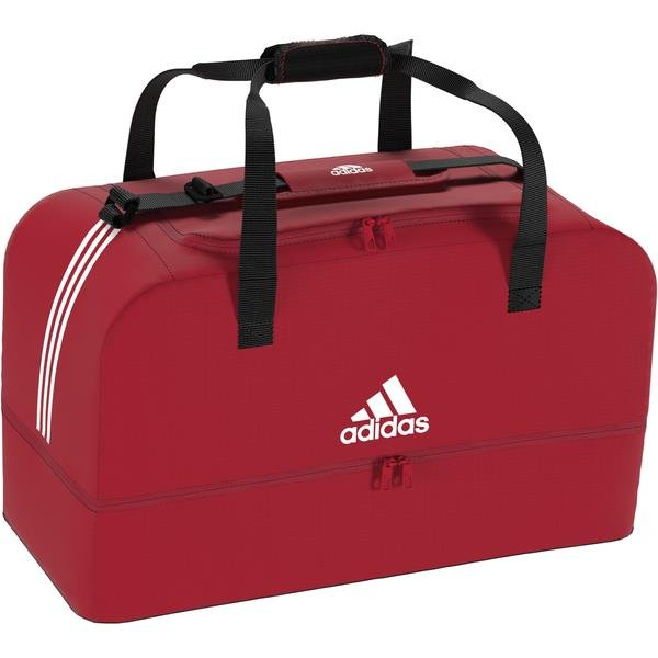 adidas Tiro Dufflebag Bottom Compartment Power Red/White
