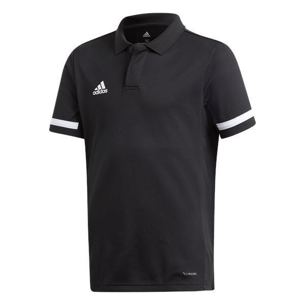 adidas Team 19 Cotton Polo Team Navy Blue/white