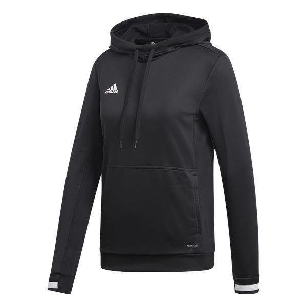 adidas Team 19 Womens Hoody White/black